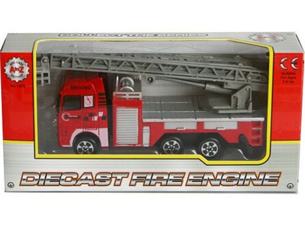 A To Z Diecast Fire Engine