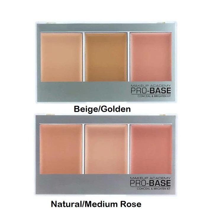 MUA Pro Base Conceal & Brighten Kit - CHOICE OF SHADES