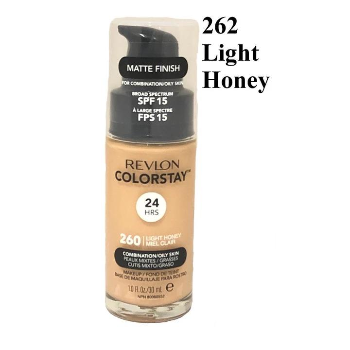 Revlon Colorstay 24HRS Foundation Combination/Oily Skin Matte Finish - CHOICE OF SHADES