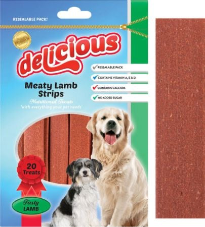 World Of Pets - Delicious Tasty Lamb Strips