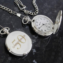 Load image into Gallery viewer, Personalised Birthday Big Age Pocket Fob Watch