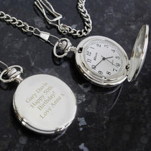 Load image into Gallery viewer, Personalised Formal Pocket Fob Watch