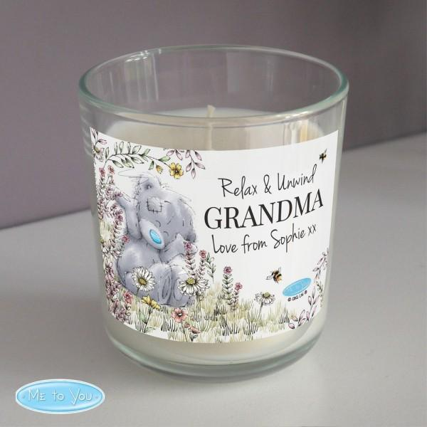 Personalised Me to You Bees Scented Jar Candle
