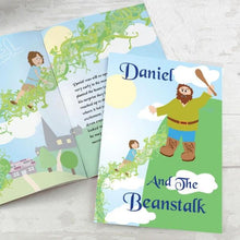 Load image into Gallery viewer, Personalised Jack and the Beanstalk Story Book