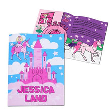Load image into Gallery viewer, Personalised Princess & Unicorn Story Book