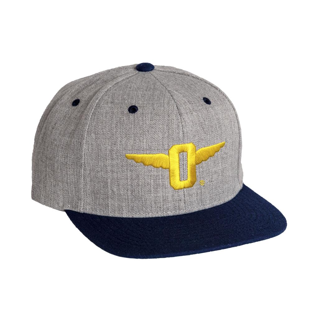 Winged-O Two Tone Snapback Cap