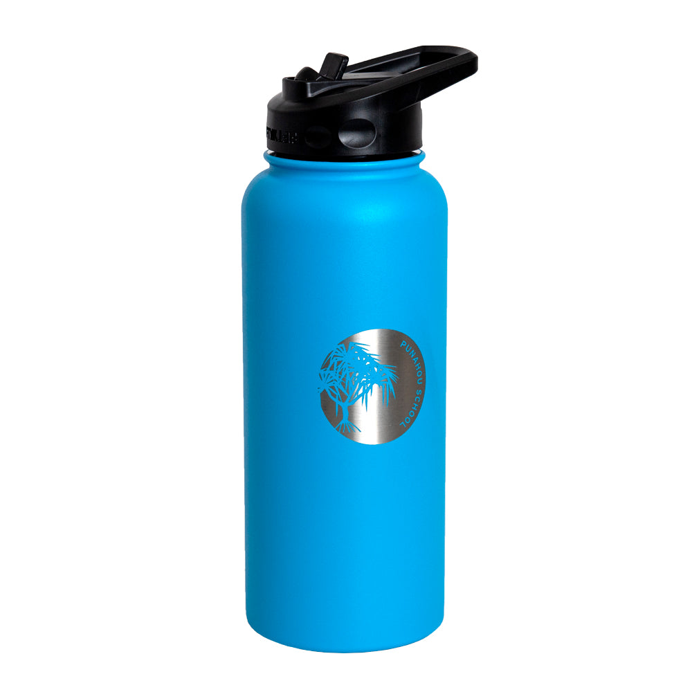 Crater Blue 34oz Vacuum-Insulated Bottle