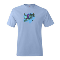 Carnival 2021 Light Blue Cotton T-shirt