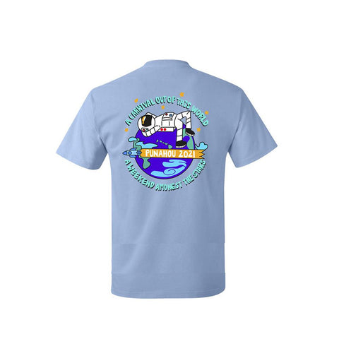 Youth Carnival 2021 Light Blue Cotton T-shirt
