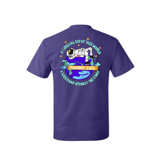 Carnival 2021 Purple Cotton T-shirt
