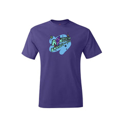 Youth Carnival 2021 Purple Cotton T-shirt