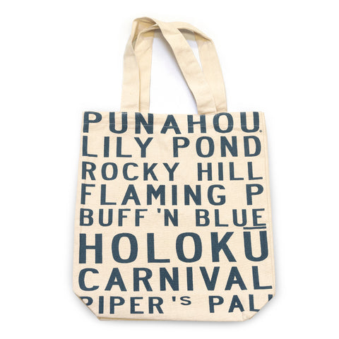 Natural Memories Cotton Canvas Tote