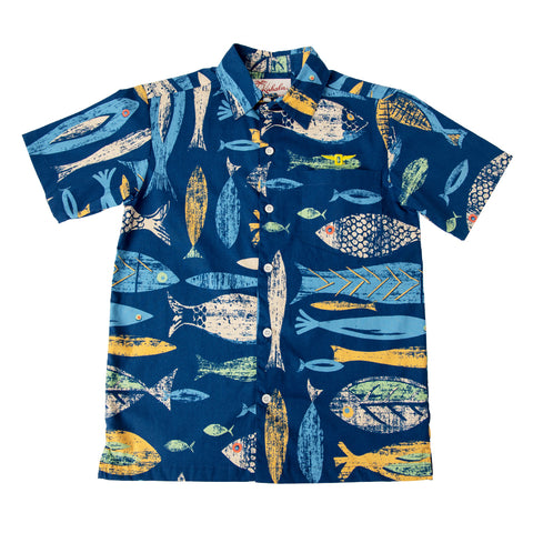 Fresh Fish Boy's Aloha Shirt