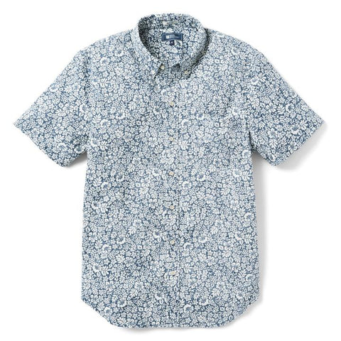 Moorea Garden Tailored BF Aloha Shirt