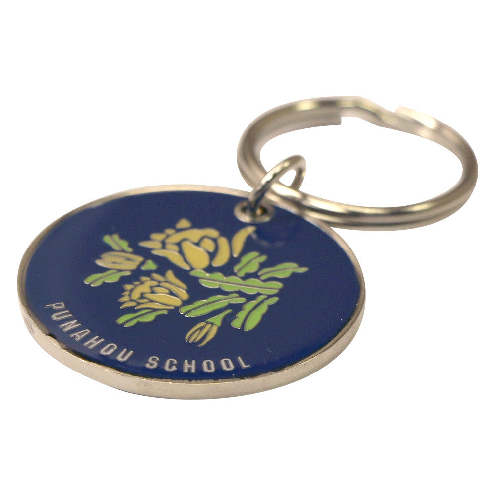 Cereus Double-sided Round Keychain