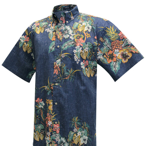 Pūpū and Mai Tai Aloha Shirt