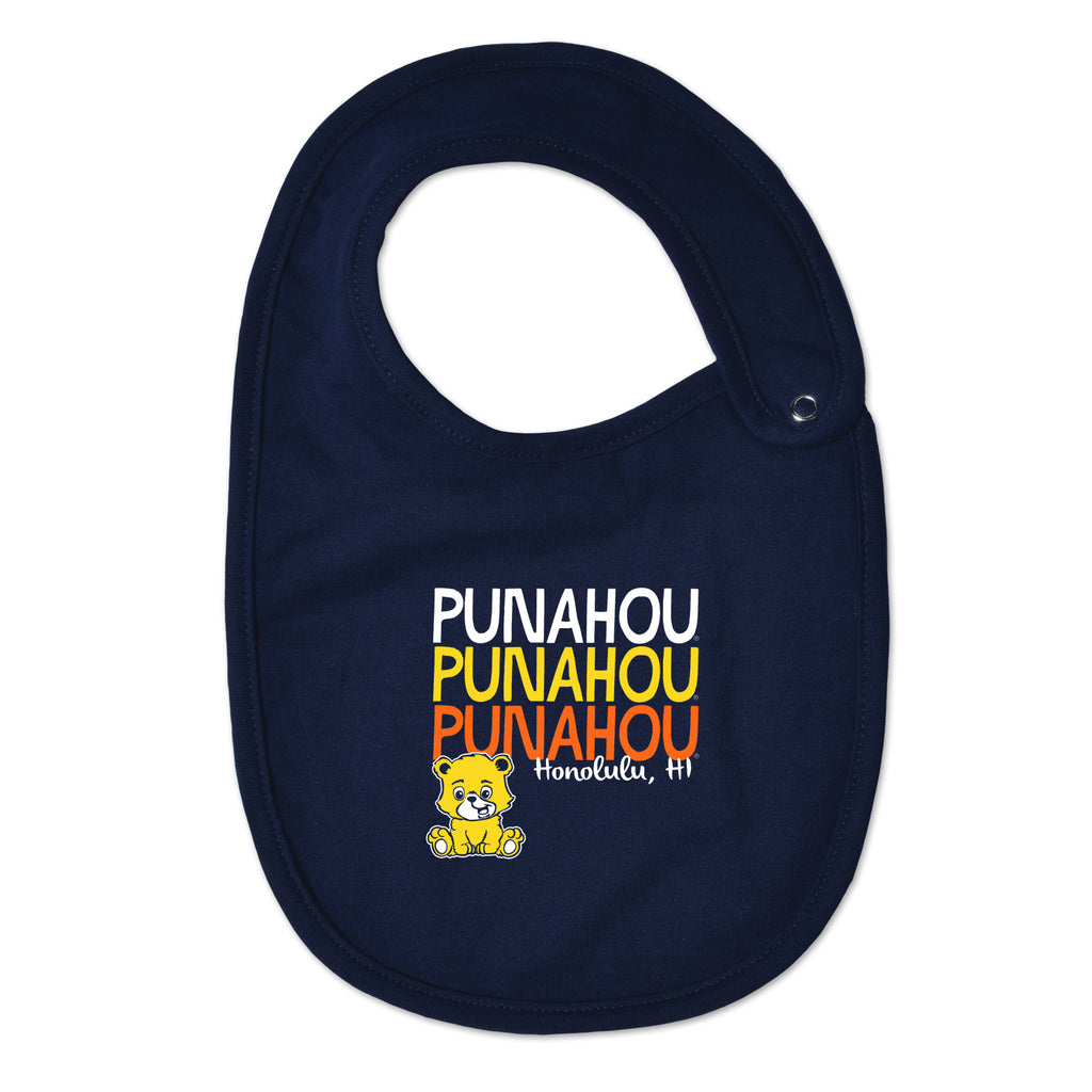 Bear Navy Bib