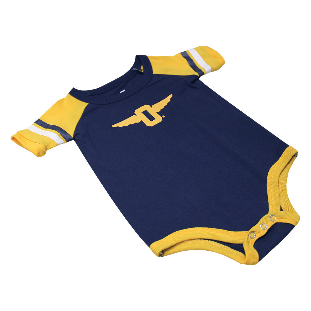 Roll-Out Onesie and Bib Set