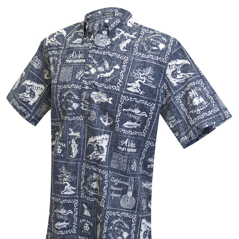 Stories from the East Aloha Pull-Over Shirt