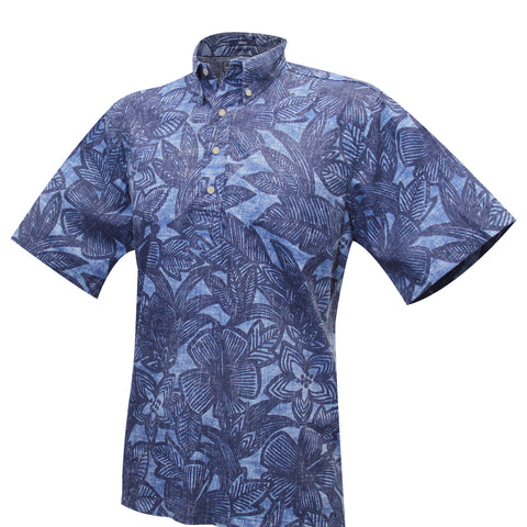 South Pacific Garden Aloha Pull-Over Shirt
