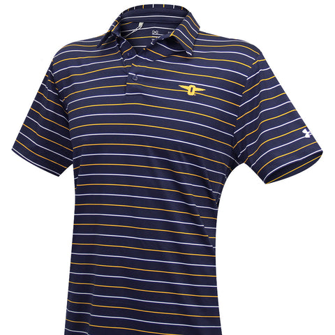 Stripe 2.0 Performance Polo