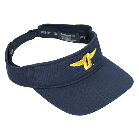 "Winged ""O"" Visor"