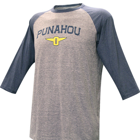"Winged ""O"" SMU Baseball Triblend Tee"