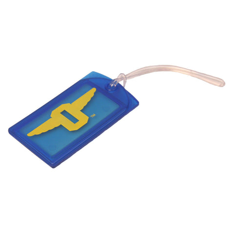 "Winged ""O"" Hard Luggage Tag"