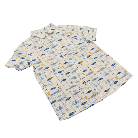 Boy's Mini Miro Aloha Shirt