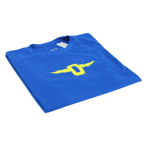 Youth Royal Blue Dri-Tech Long Sleeve Tee