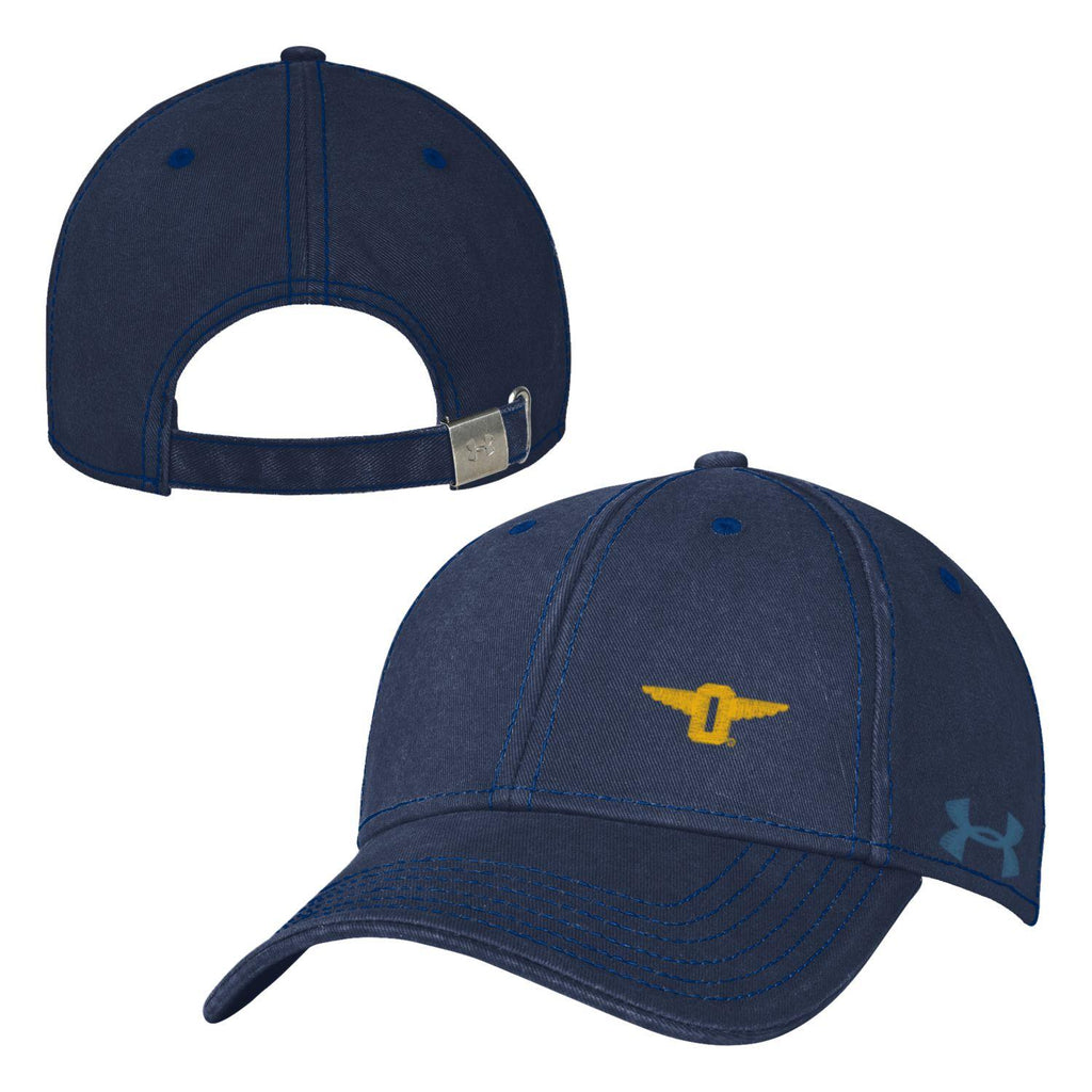 UA Corner Washed Structured Cotton Cap