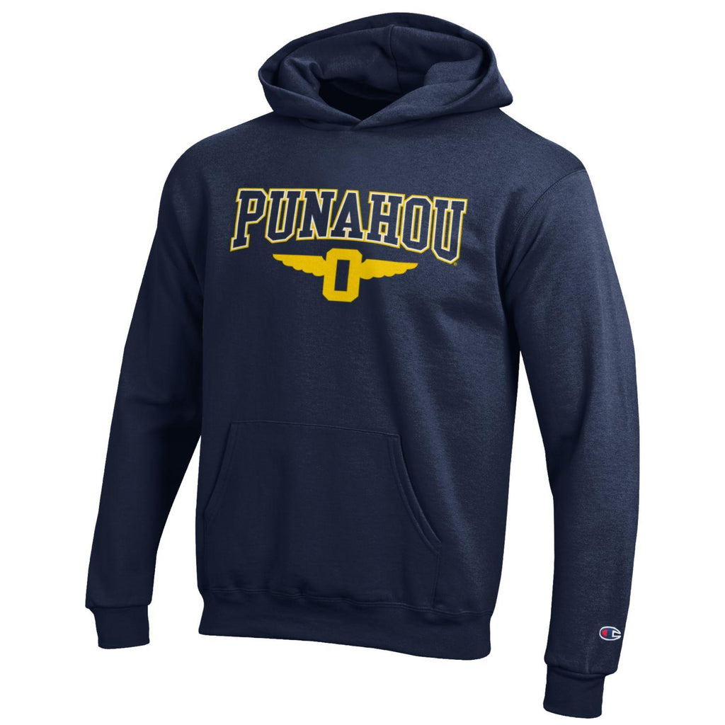 Youth Outline Powerblend Hoodie