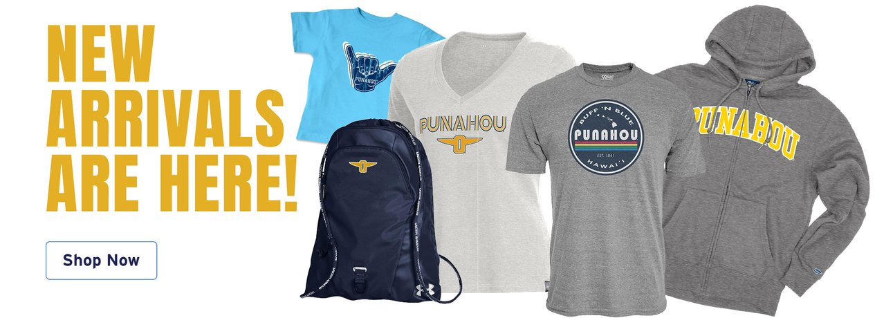 Punahou Pride for the entire family - Shop New Arrivals