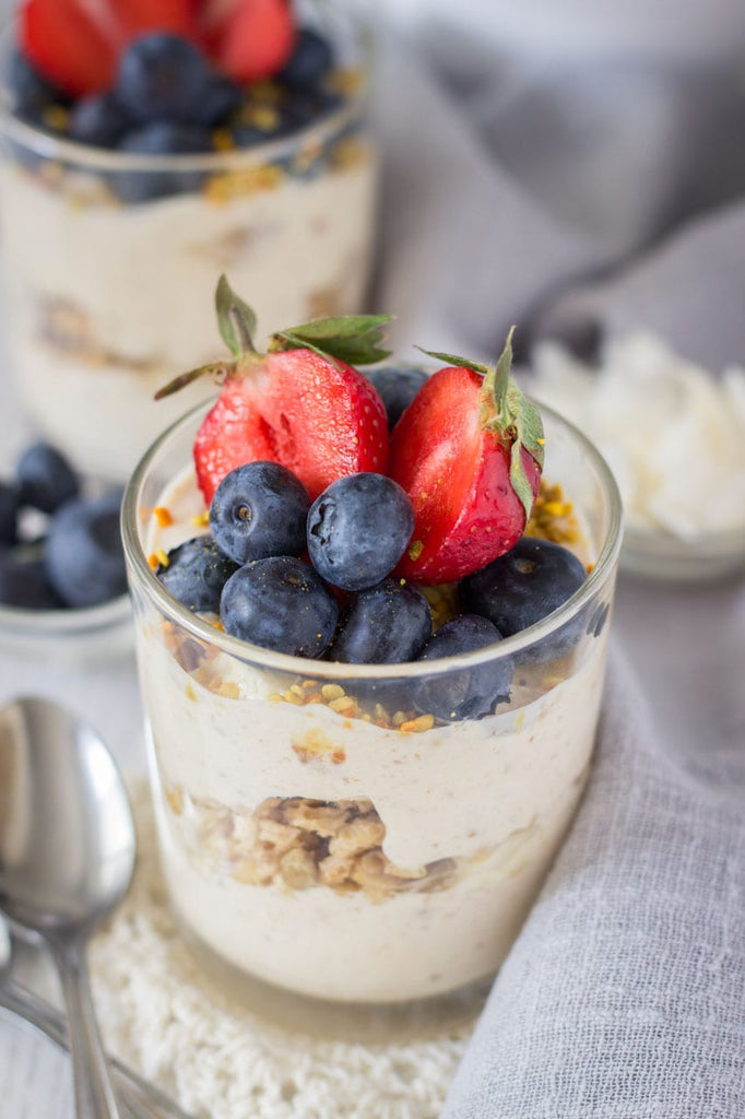 Peanut Butter Greek Yogurt Parfait