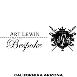 Art Lewin Bespoke - Million Dollar Collar - California - Arizona - Placket Stays