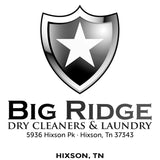 Big Ridge Cleaners - Hixson TN 37343 - Million Dollar Collar Installation Location Near Me - Placket Stays - Dress Shirt