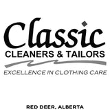 Classic Cleaners - Red Deer Alberta Canada - Million Dollar Collar Installation Location Near Me - Placket Stays