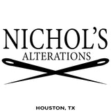 Nichols Alterations - Houston TX - Million Dollar Collar Installation Location Near Me - Dress Shirt - Placket Stay