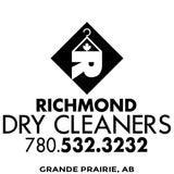 Richmond Cleaners - Grande Prarie Alberta - Canada - Million Dollar Collar Installation Location Near Me - Dress Shirt - Placket Stay
