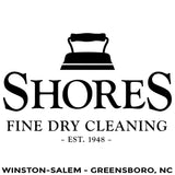 Shores Cleaners - Winston-Salem - High Point - Greensboro NC  - Million Dollar Collar Installation Location Near Me - Placket Sta