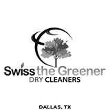 Swiss Greener Cleaner - Dallas TX - Million Dollar Collar Installation Location Near Me - Dress Shirt - Placket Stay
