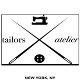 Tailors Atelier - Million Dollar Collar - New York, NY - Placket Stays