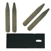 Metal Collar Stays - 5 Sets