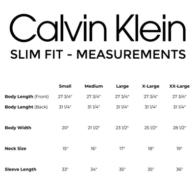 Calvin Klein - Steel - Slim Fit - Non-Iron Broadcloth Solid