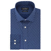 LAUREN by Ralph Lauren - Slim Fit - Wrinkle Free - Stretch - Navy Print