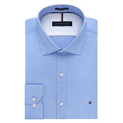 Tommy Hilfiger - Slim Fit - Non-Iron Pinpoint Solid