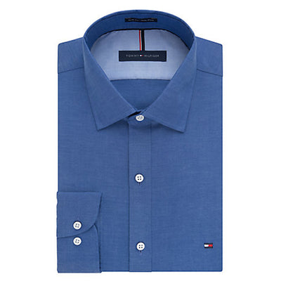 Tommy Hilfiger - Slim Fit - Non-Iron - Pinpoint Solid