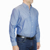 Van Heusen - Chambray Spread Flex Collar Shirt