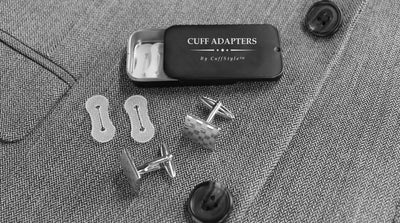 Cuff Adapters - Wear Cuff Links with ANY Dress Shirt