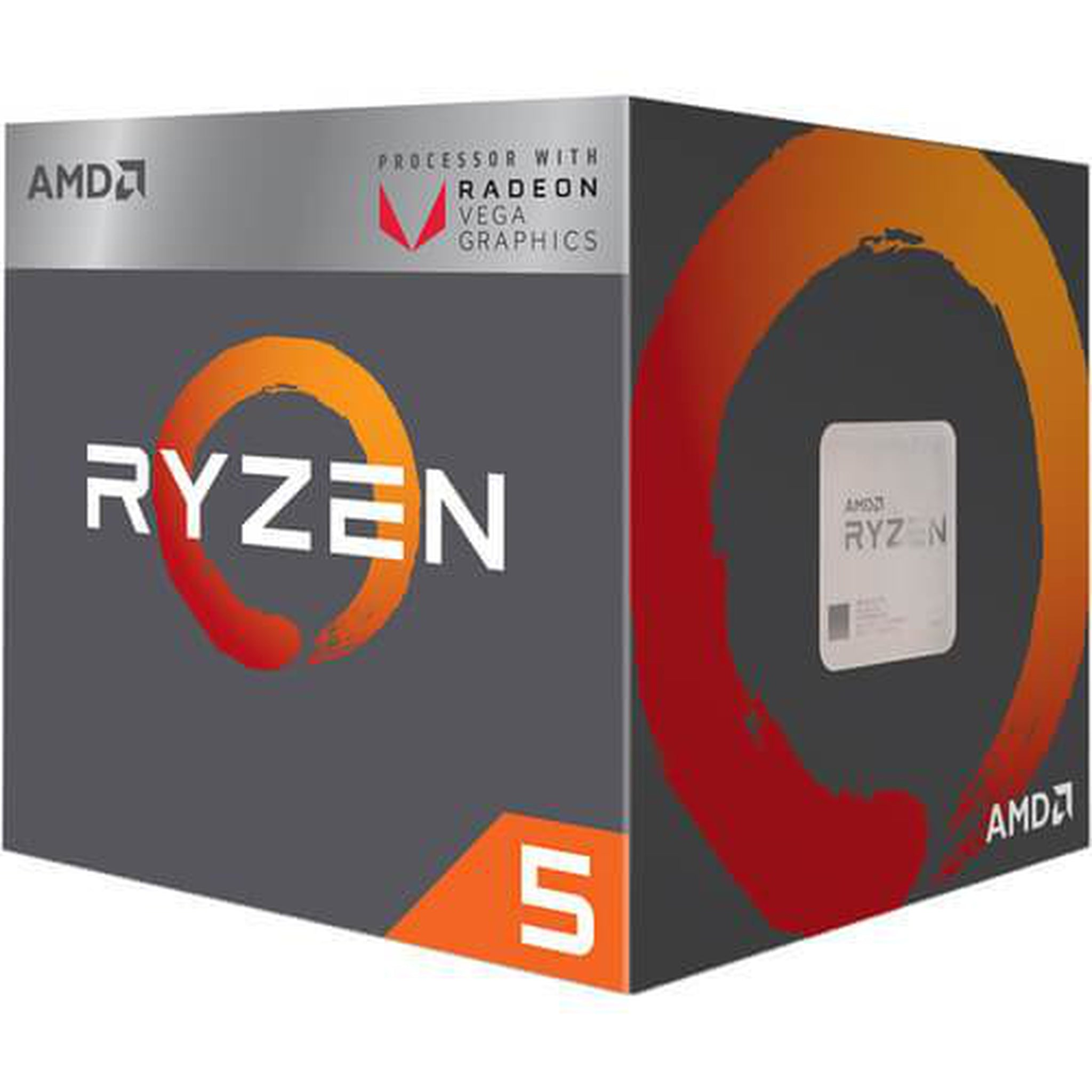 AMD CPU - RYZEN 5 2400G - Choice Computer Technologies